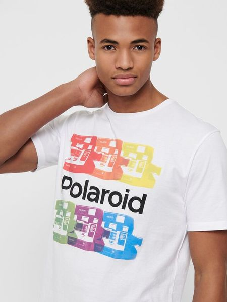 Only & Sons t-paita, Polaroid ss tee